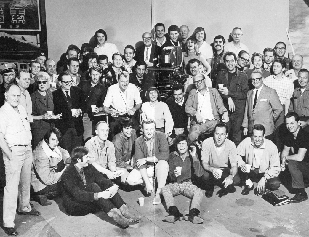 Monkees TV show cast and crew
