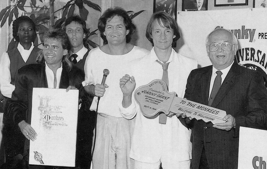 Monkees 1986 Hollywood