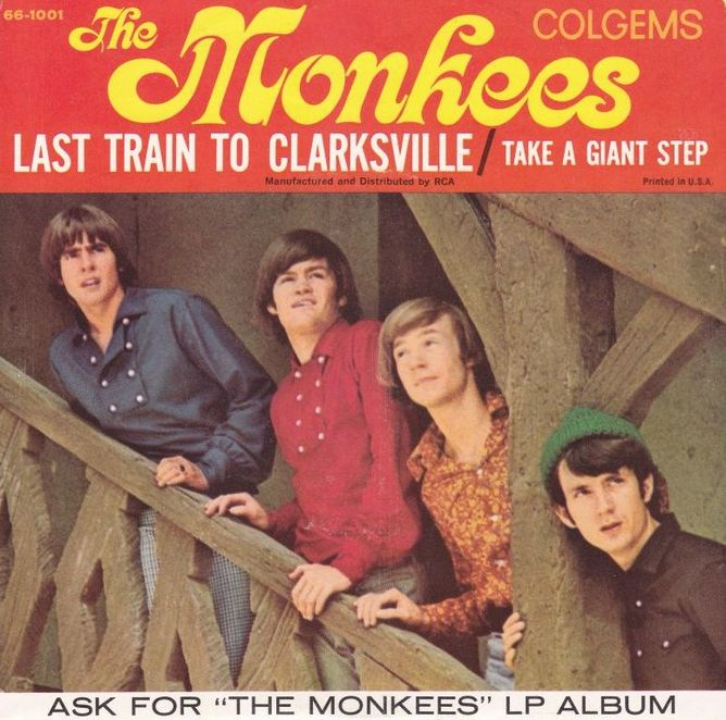 Monkees Last Train to Clarksville picture sleeve