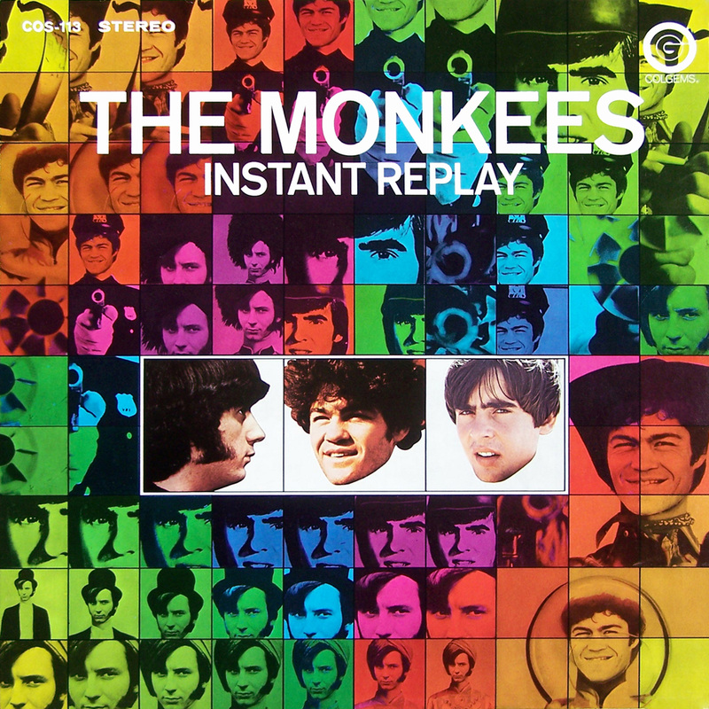 Monkees Instant Replay 1969 album cover