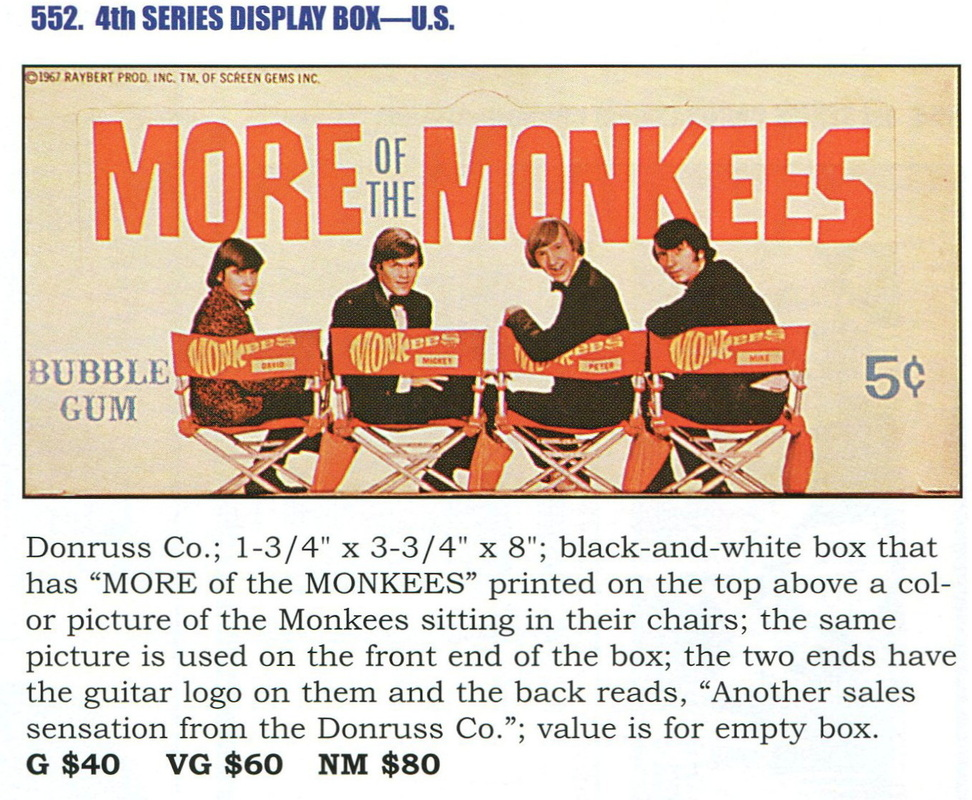 Monkees 4th Series Donruss
