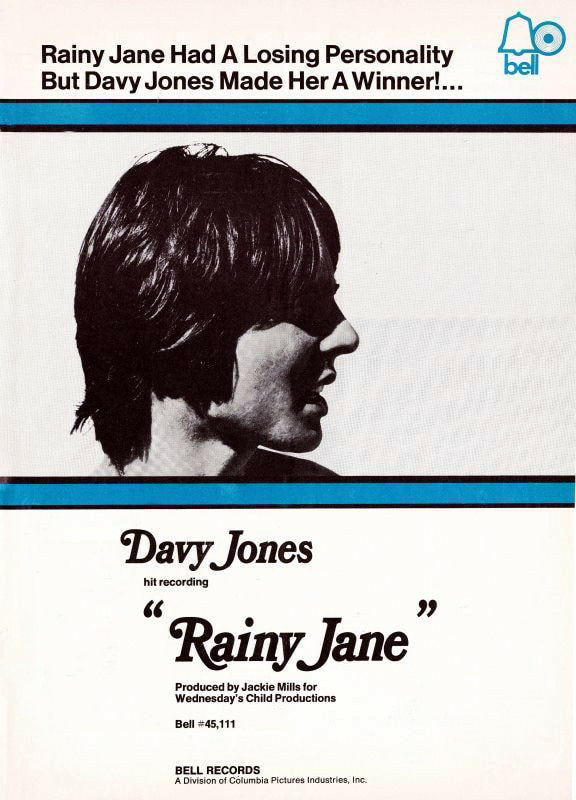 Davy Jones Rainy Jane