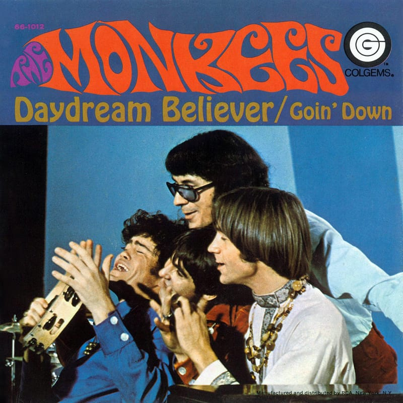 Monkees Daydream Believer picture sleeve