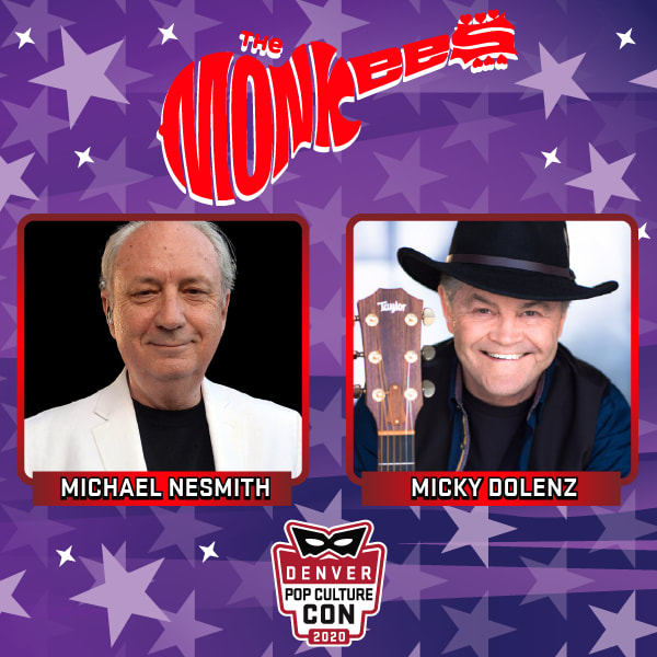 Monkees Denver Pop Culture Con 2020