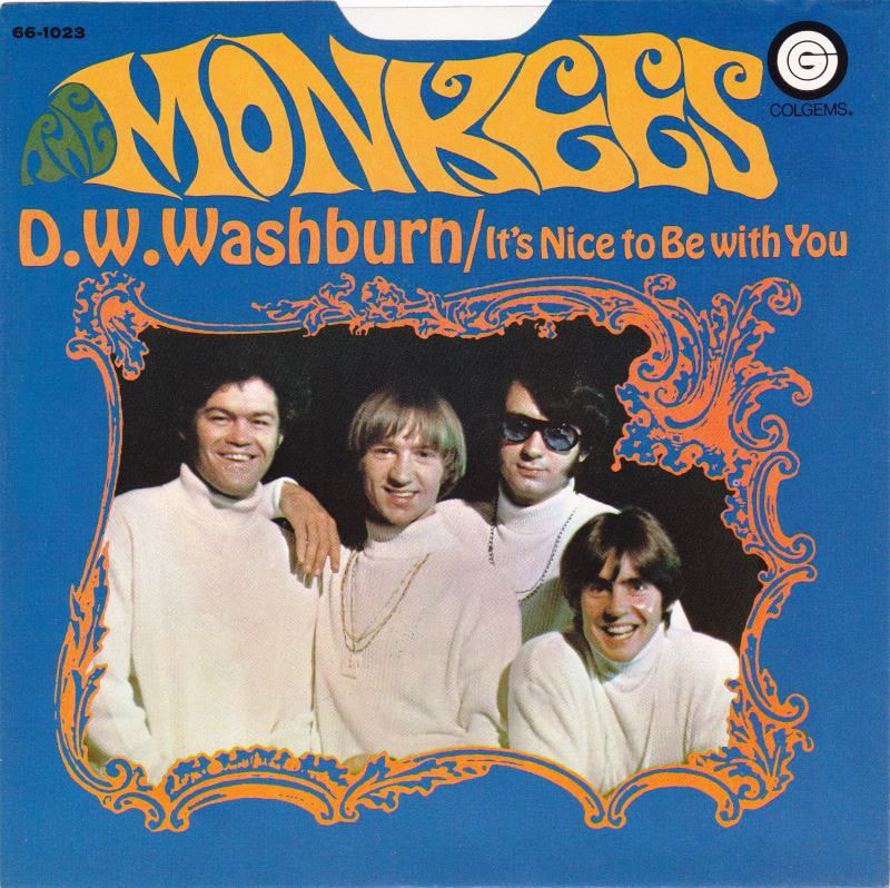 Monkees D.W. Washburn picture sleeve