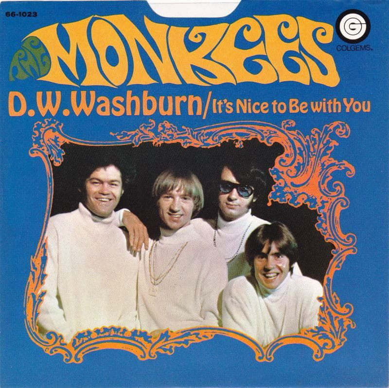 Monkees DW Washburn picture sleeve