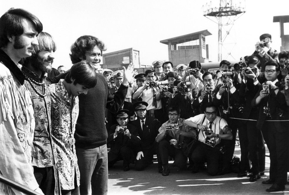 Monkees tour Japan 1968