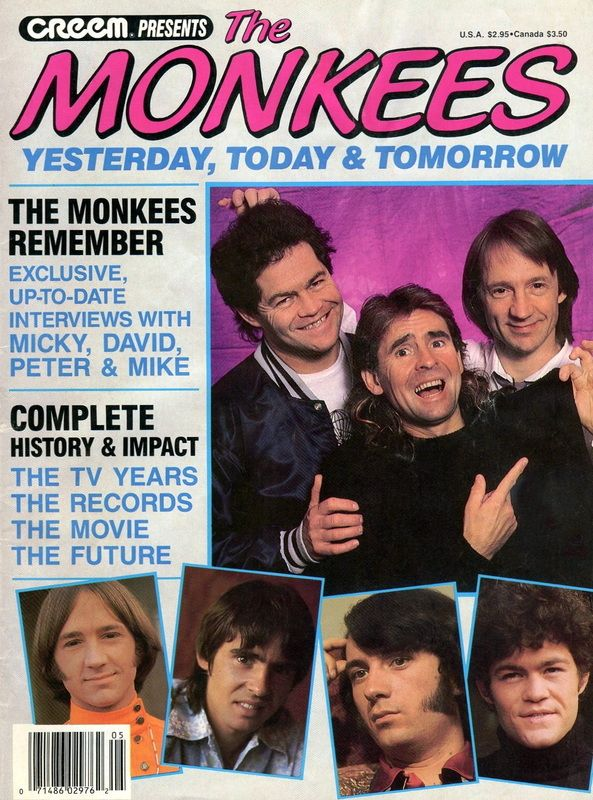 Monkees 1987 Creem magazine