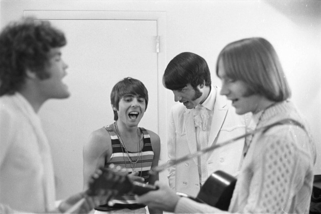 Monkees backstage Salt Lake City 1968
