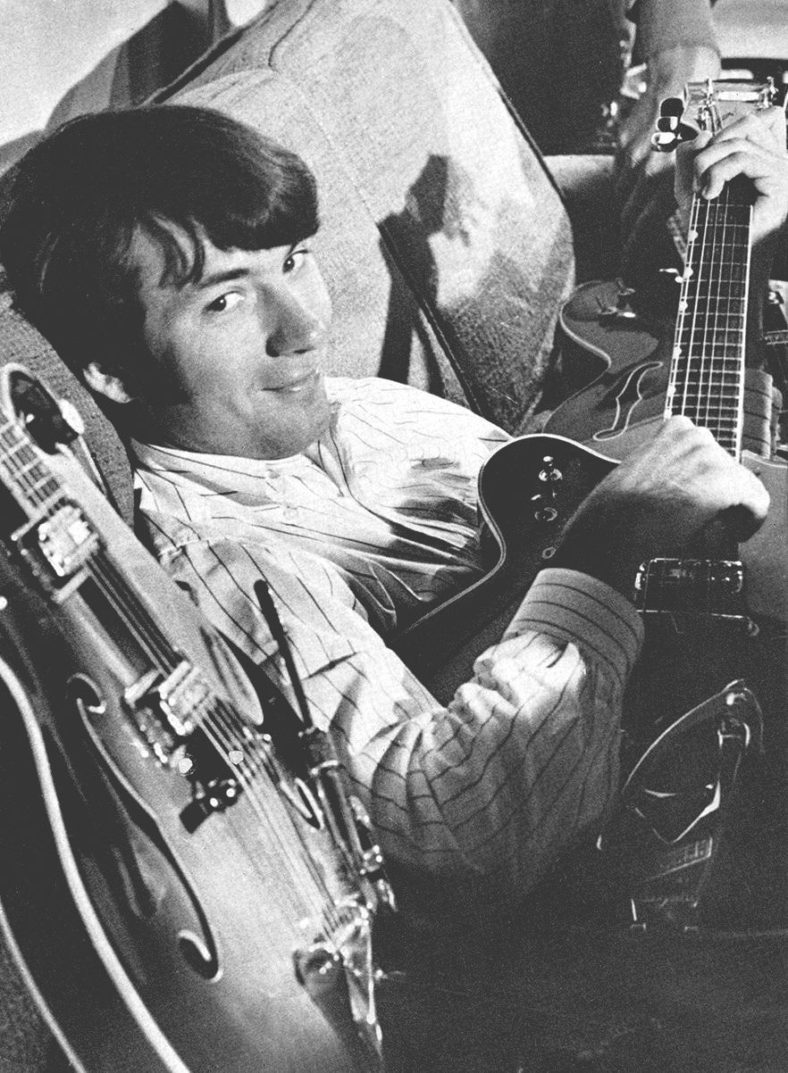 Michael Nesmith Gretsch guitar Monkees