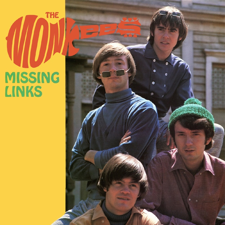 Monkees Missing Links album cover