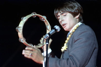Davy Jones Monkees tambourine