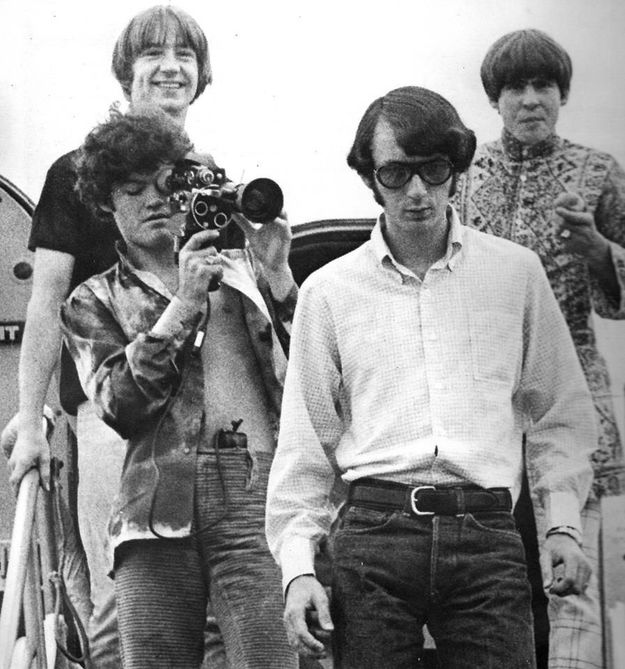 Monkees tour 1967 airplane