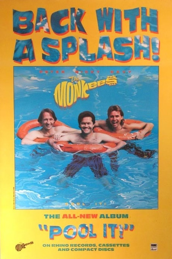 Monkees Pool It poster