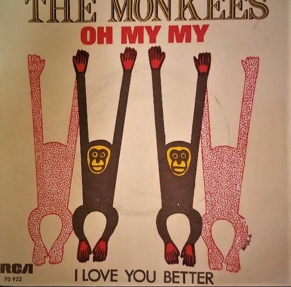 Monkees Oh My My picture sleeve Turkey