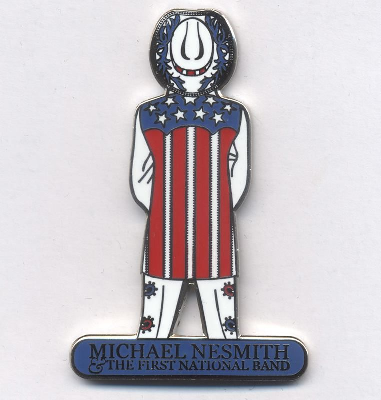 First National Band Nesmith pin