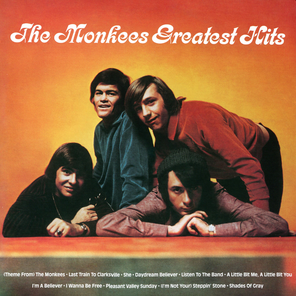 The Monkees Greatest Hits album cover