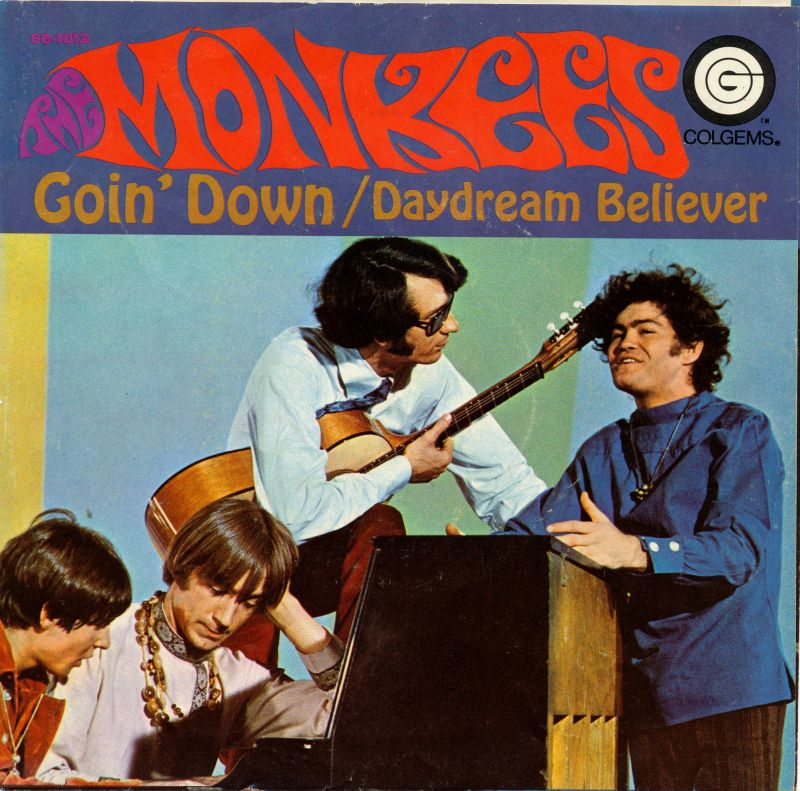 Monkees Goin Down picture sleeve