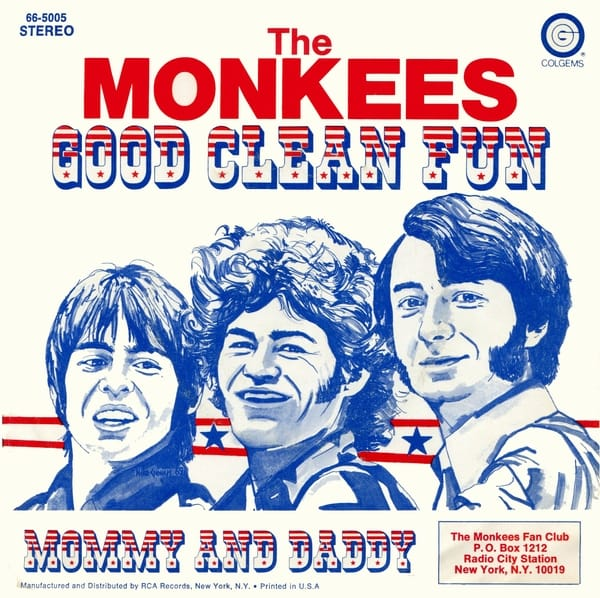 Monkees Good Clean Fun picture sleeve