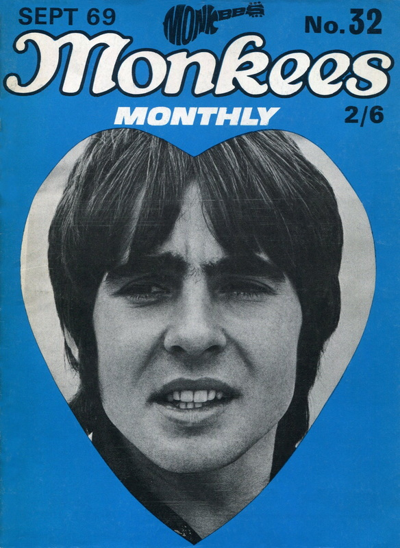 September 1969 Monkees Monthly final issue