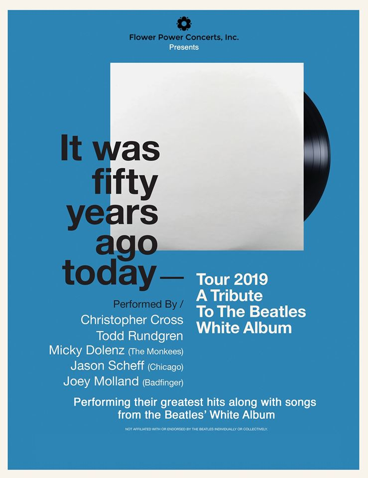 It Was 50 Years Ago Today Tour Beatles White Album Micky Dolenz