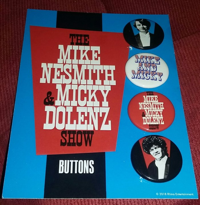Monkees buttons Mike & Micky Show