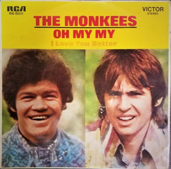 Monkees Oh My My picture sleeve Australia