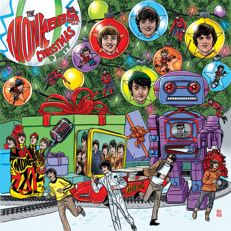 Monkees Christmas Party album