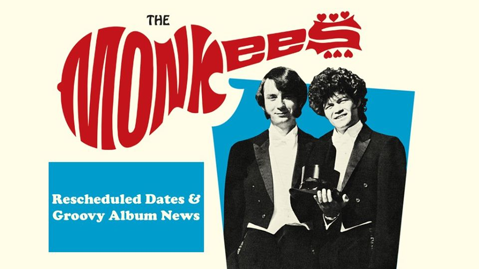 Monkees 2020 tour reschedule