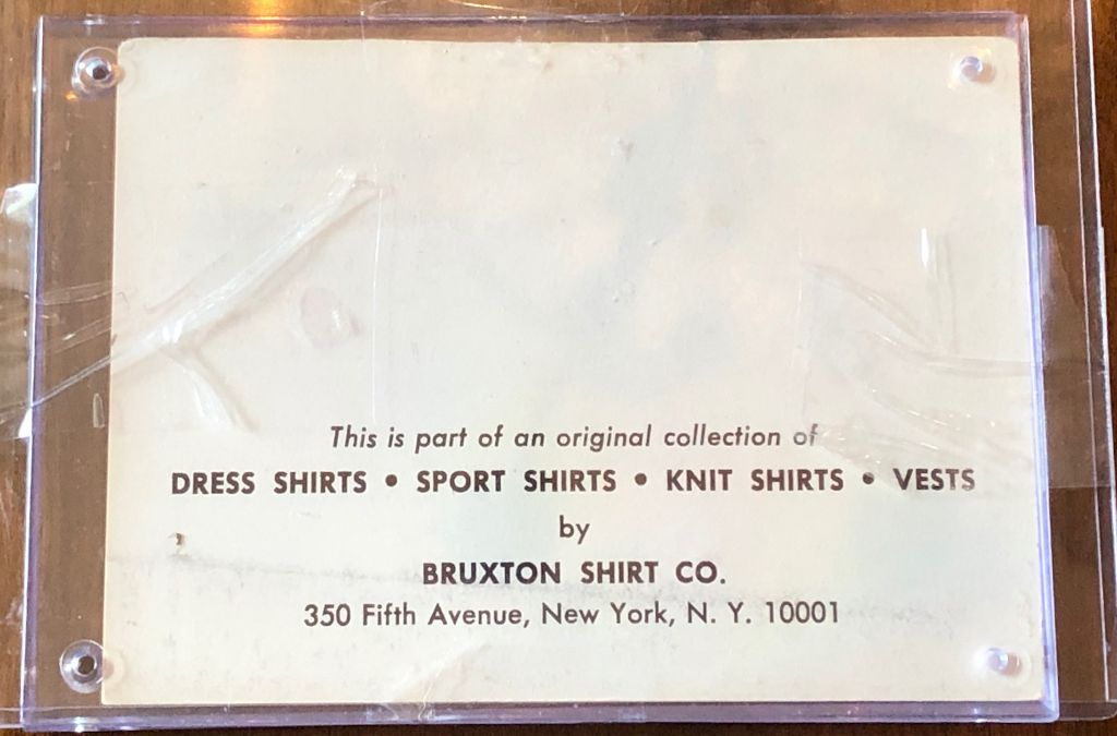Bruxton Shirt Company New York