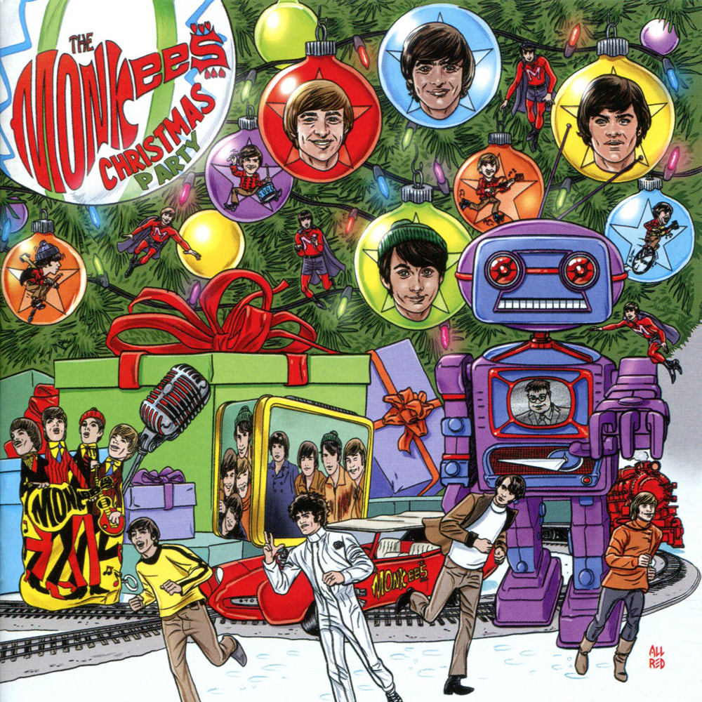 Monkees Christmas Party CD booklet