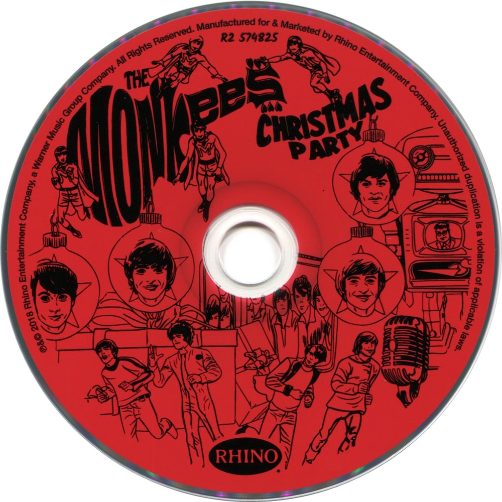 Monkees Christmas Party compact disc