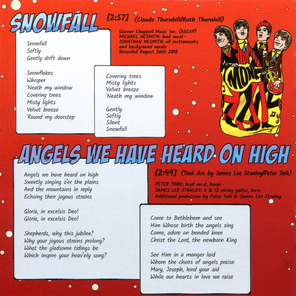 Monkees Snowfall Angels We Have Heard on High