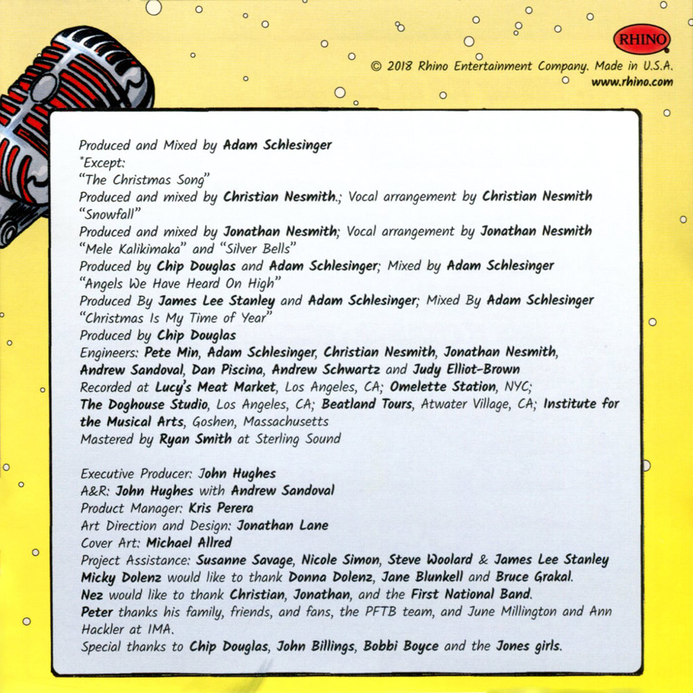 Monkees Christmas Party credits