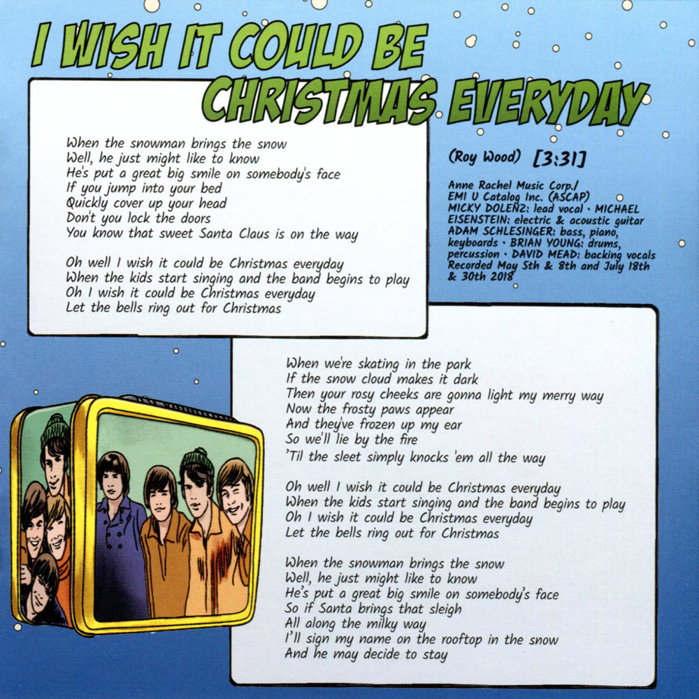 Monkees I Wish It Could Be Christmas Everyday