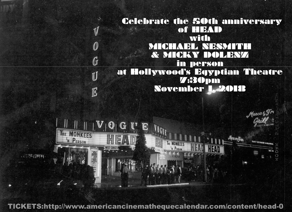 Monkees Head 50th Hollywood