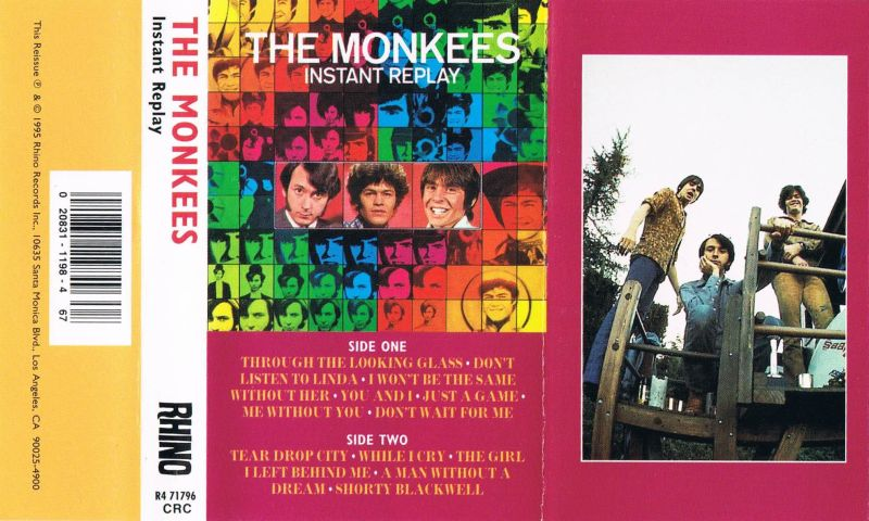 Monkees Instant Replay cassette