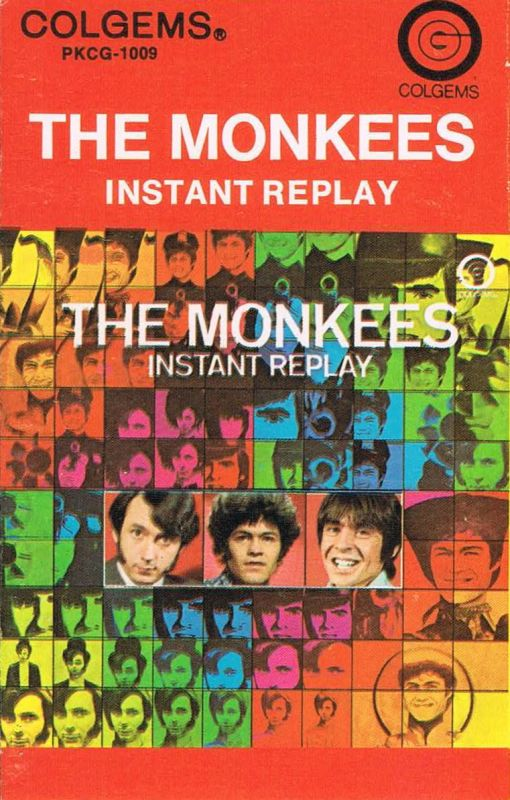 Monkees Instant Replay cassette Colgems
