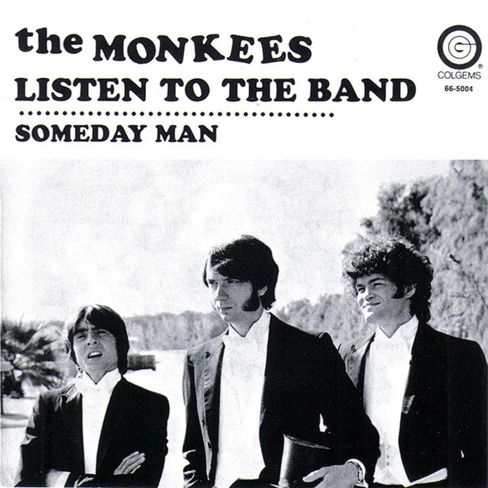 Monkees Listen to the Band picture sleeve
