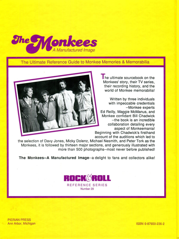 Monkees Manufactured Image back cover