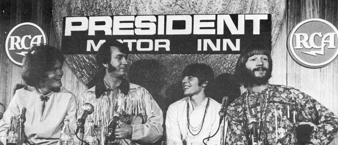 Monkees Melbourne Australia 1968 tour