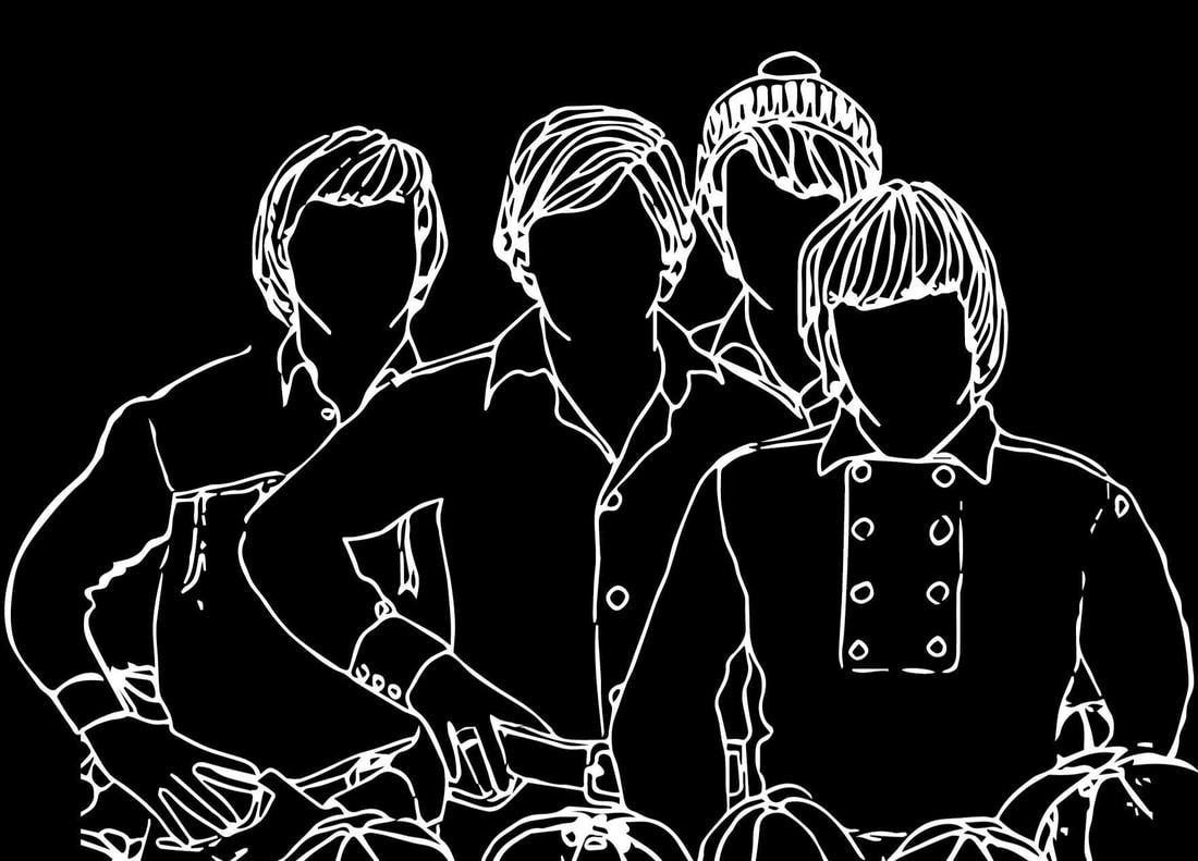 Monkees Pisces silhouette