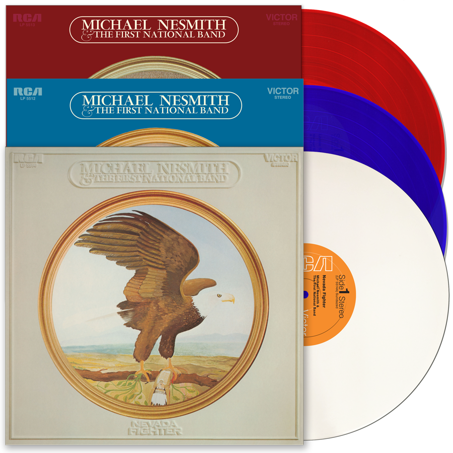 Nesmith First National Band albums Sundazed vinyl