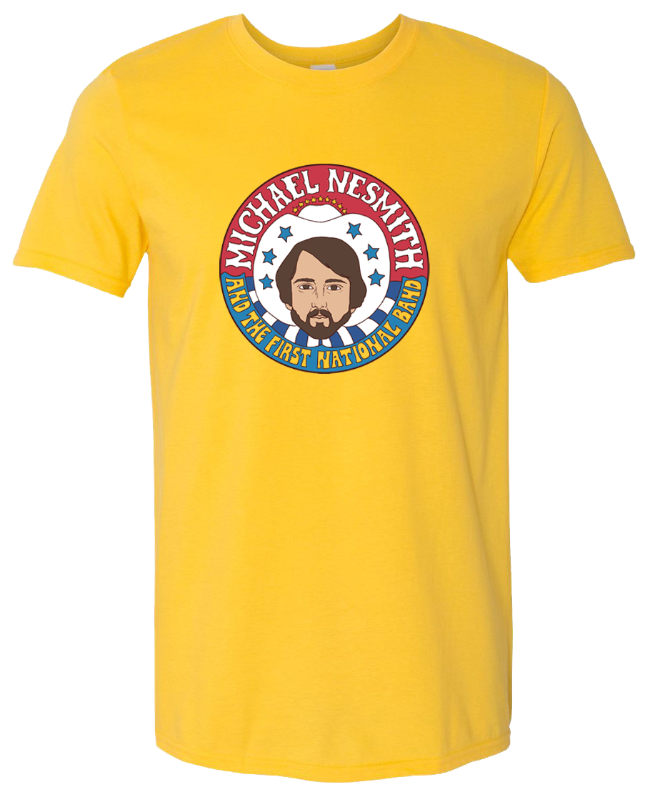 Michael Nesmith First National Band T-shirt