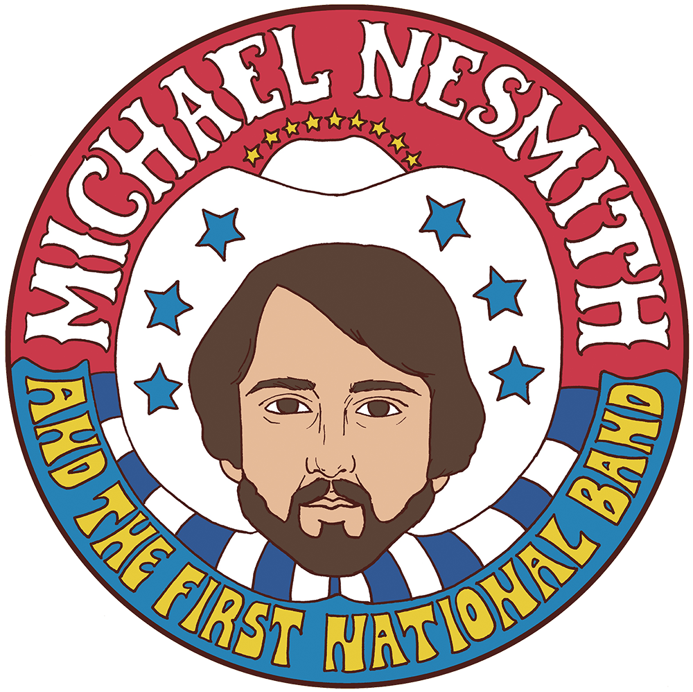 Michael Nesmith First National Band Redux October 2019 Tour Poster