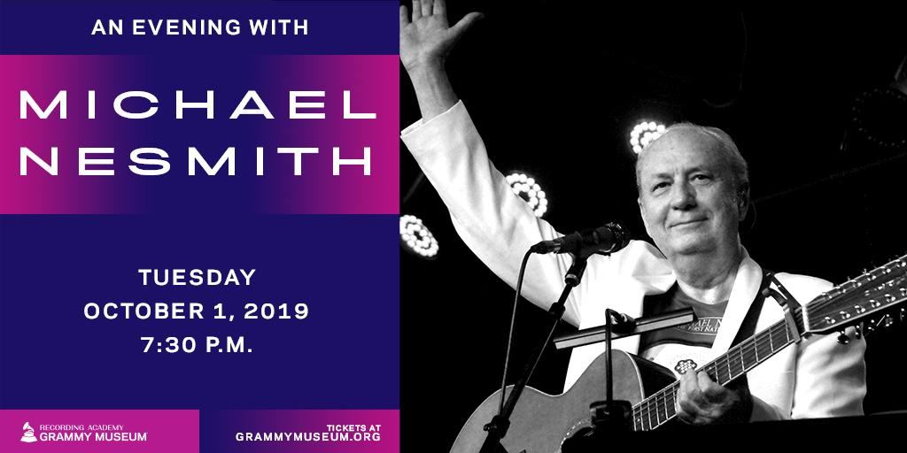 Michael Nesmith Grammy Museum 2019