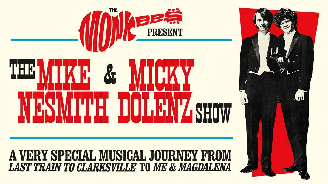 Monkees 2018 Nesmith Dolenz tour