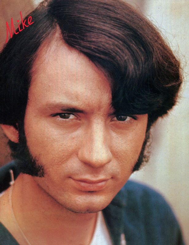 Mike Nesmith sideburns