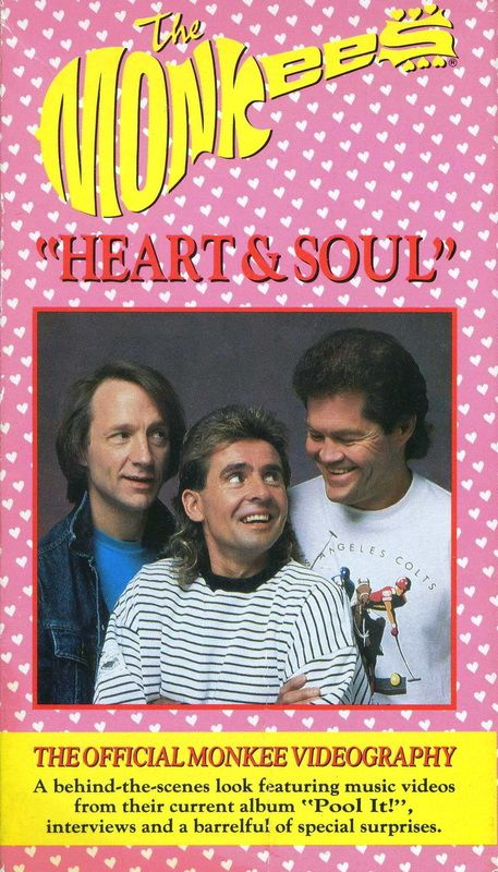 Monkees Heart and Soul VHS videography