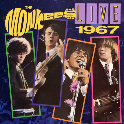 Monkees Live 1967 album